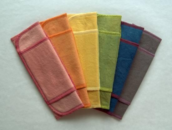 汚れが落ちやすい布ナプキン