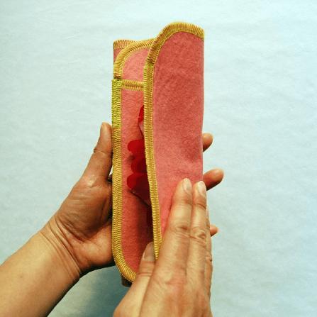 折り返す多い日用布ナプキン